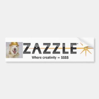 Zazzle Logo Bumpersticker Bumper Sticker