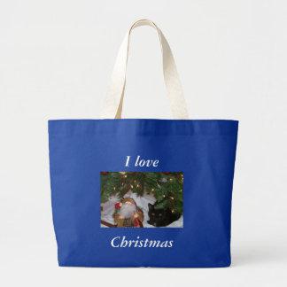 Zazzle MaiMai, I love, Christmas Tote Bag
