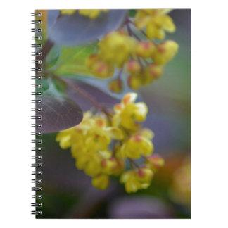 zazzle-pattern-leave notebook