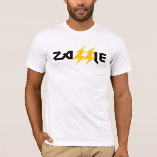 Zazzle Rock Lightning Bolt White Tee