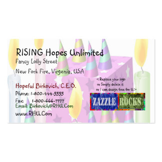 ZAZZLE ROCKS - Eventmanagement Entertainment Pack Of Standard Business Cards