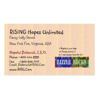 ZAZZLE ROCKS - Golden Streak Pattern Pack Of Standard Business Cards