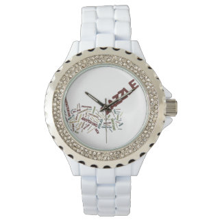 Zazzle Tag Cloud on white Background Watch