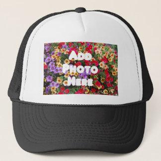 Zazzle Template Design My Own Photo Present Upload Trucker Hat