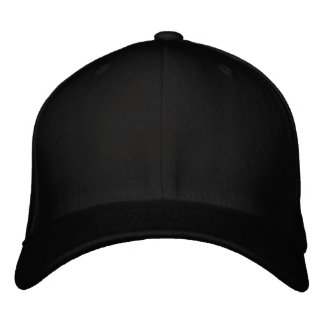 """Zazzle Text Logo 0.9"""" Embroidered Hat"""
