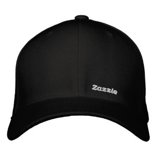 "Zazzle Text Logo 1.5"" Embroidered Baseball Cap"