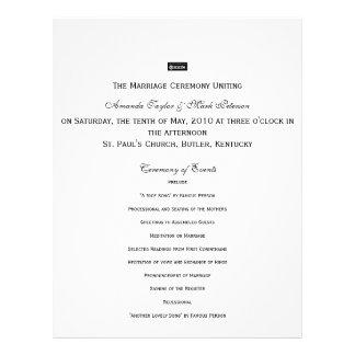 Zazzle, The Marriage Ceremony Unitingon Saturda... Custom Flyer