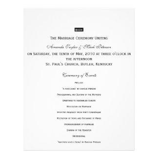 Zazzle, The Marriage Ceremony Unitingon Saturdarrr Flyer Design