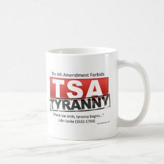Zazzle TSA Tyranny Image Basic White Mug