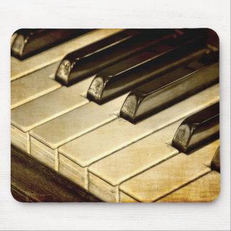 ZazzleTops Award Vintage Piano Keys Mousepad Mouse Pad