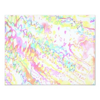 Zazzling Magical Snowflake Jewels 11 Cm X 14 Cm Invitation Card