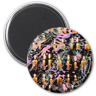 Zazzling Magical Snowflake Jewels Magnet