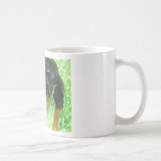 ZazzRottie.jpg Basic White Mug