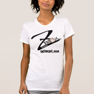 ZBOX LOGO, Detroit, USA Fitted T T-Shirt