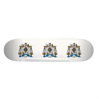 ZBT Crest Color 20.6 Cm Skateboard Deck