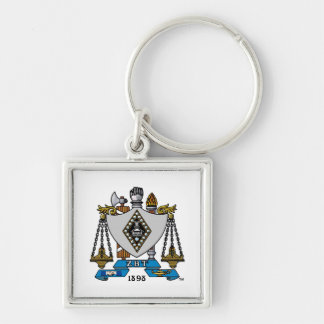 ZBT Crest Color Key Ring