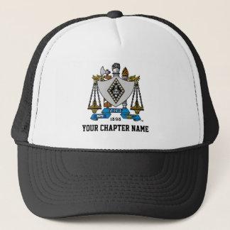 ZBT Crest Color Trucker Hat