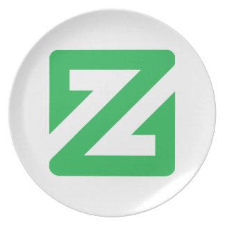 ZCoin Plate
