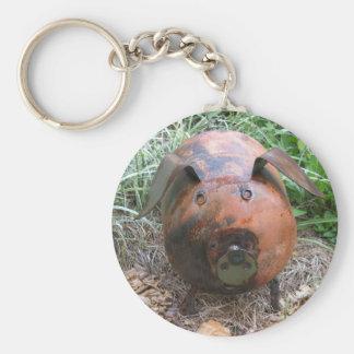 ZD- Cute Pig Keychain