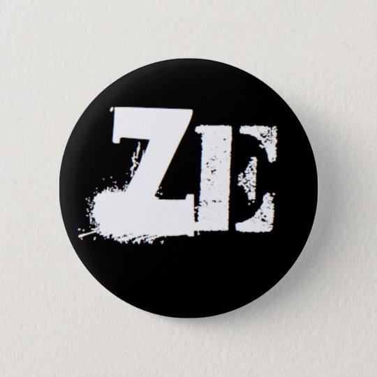 """""""Ze"""" is my pronoun 6 Cm Round Badge"""