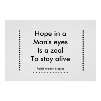 zeal to stay alive print