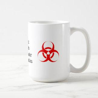 Zealots: Scarier Than Zombies Basic White Mug