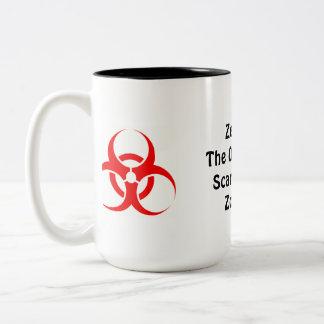 Zealots: Scarier Than Zombies Two-Tone Coffee Mug