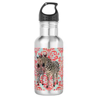 Zeb & Zenya Damask Liberty Bottle 532 Ml Water Bottle