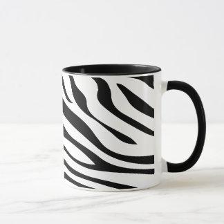 Zebbra Stripes Black and White