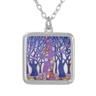 Zebedee Too 2012 Silver Plated Necklace