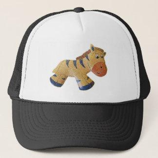 Zebedee Zebra Trucker Hat