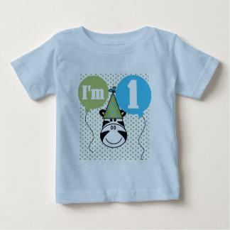 Zebra 1st Birthday Tshirts and Gifts