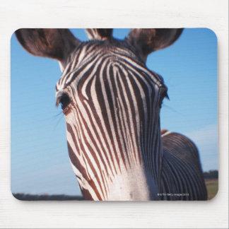 zebra 2 mouse mat