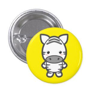 Zebra 3 Cm Round Badge