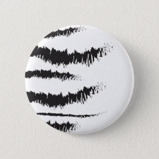 Zebra 6 Cm Round Badge