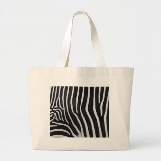 zebra-9 jumbo tote bag