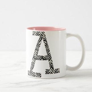 Zebra A Coffee Mug