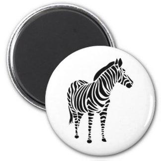 Zebra abstrakt farbig tiere animals love magnete