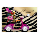 Zebra Accessories Purse Jewellery Gold Black Pack Of Chubby Business Cards