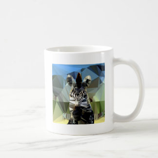 Zebra African Low Poly Theme Coffee Mug