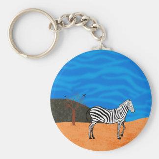 Zebra Afrika Africa Schlüsselanhänger