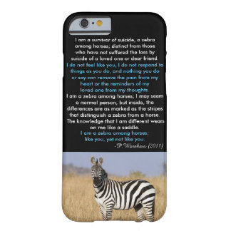 Zebra Among Horse iPhone6 Case Barely There iPhone 6 Case