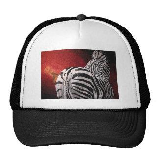 Zebra and Oxpecker Cap