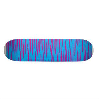 ZEBRA ANIMAL ゼブラ アニマル COLORFUL カラフル スケートボードデッキ