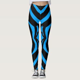 Zebra Animal Pattern Black Stripe Sexy Legging