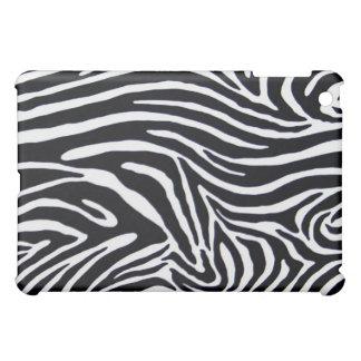 Zebra Animal Print iPad Cover