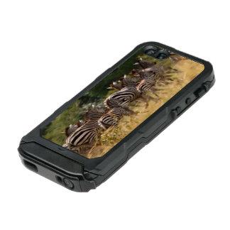 Zebra Animal Print on the Move Incipio ATLAS ID™ iPhone 5 Case