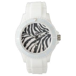 Zebra Animal Print Watch