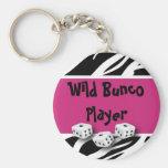 Zebra Animal Print WIld Bunco Player