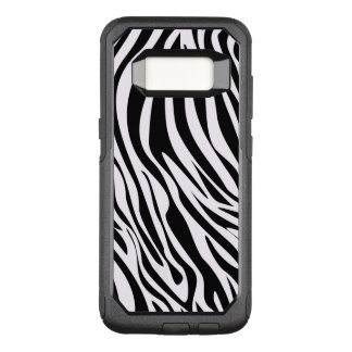 Zebra Animal Stripes Pattern OtterBox Commuter Samsung Galaxy S8 Case